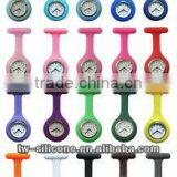 colorful silicon rubber nurse watch