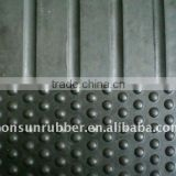 15mm, 17mm thickness cow/horse rubber mat