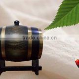 2015 best price wooden wine barrel oak barrel Canton Fair Christmas solid wood wine barrel