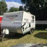 chengli supply brand new mini caravan trailer for sale