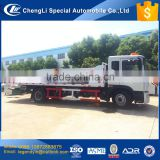 CLW 2017 new product high efficient one tow three wrecker truck for towing rescuing three cars
