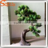 wholesale decor artificial fake plants,artificial pine tree,faux pine tree topiary stake