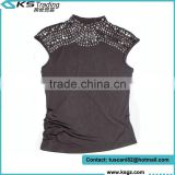 Bulk Stock Wholesale Tank Top Lady Clothing for Sale