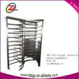 indoor and outdoor with shed full height turnstile gate with card reader