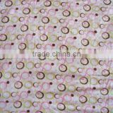 velour bamboo towel printed fabric