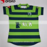 Hot sale custom design sublimation printing college rugby jersey,cheap plain rugby jerseys