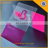 Company Employee Inkjet Printing PVC Name Card