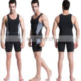Sports stretch fabrics tight fitness training breathable men's tank top clothing