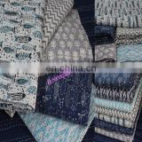 Wholesale Lot of Hand block print Kantha quilt