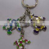 Alibaba hot sales custom souvenir gifts turtle mexico key chains