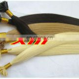 Tangle Free Double Drawn 4A Grade Flat Tip Hair Extension Indian Remy Human Hair