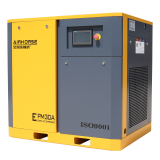 PMSM speed variable frequency control screw air compressor with inverter.