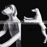 hot sale white window display dog mannequin