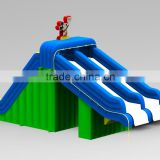 Hottest inflatable slide for pool,inflatable kids and adults used climbing slide for family games