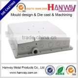 china manufacturer sandblasting powder coating wireless aluminum enclosure aluminum die casting