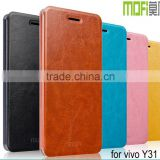 MOFi Smart Phone PU Leather Flip Cover Case for vivo Y31, Mobile Phone Accessories for vivo Y31