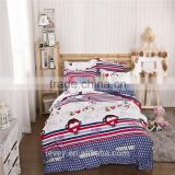 Ievey best price good quality 13372 pure cotton reactive printed home choice bedding set christmas bedding