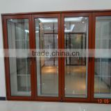 Aluminium lowes glass interior folding doors