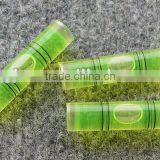 PMMA Square bubble level with keychain circular level vial,circular, square vial,Gradienter level bubbles