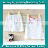 2015 the latest design Summer baby sleeveless suit china baby clothing manufacturing