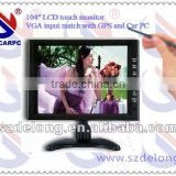 "Hot Sales 10.4"" Stand VGA USB Touch Screen LCD Monitor"