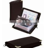 Hot sale protective RFID blocking PU leather card wallet/holder