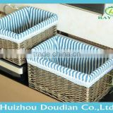 Round Rattan Cushion Storage Box For Outdoor Furniture Trade Assurance Supplier