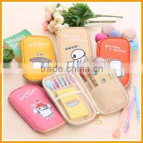 Factory Mini Multifunctions Leather Pencil Bag                                                                         Quality Choice