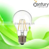 8W E27 LED Filament Bulb AC 220V Warm White LED Glass Bulb 800lm Filament LED Lamp Replace Incandescent Lamp 10pcs/lot