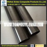 Colorful large diameter carbon fiber tube 150mm with glossy surface finish Chinese supplier