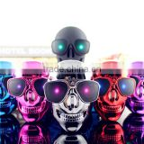 (2016 flashlight) cool fashion power bank cute cartoon charger skull power charger for mobile