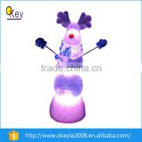 alibaba express rechargeable battery for animal products plastic water globe with LED lights