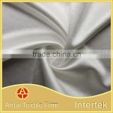 Dazzle knitted nylon elastane satin fabric/durable nylon stretch satin for ladies dresses