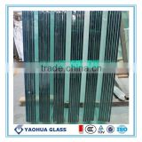 CCC/CE/ISO9001/EN12150-1 certificate 3-19mm toughening float glass stair/window/door/swimming pool