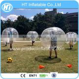 2016 Hot Sale 1.7m Diameter Kids&Adults Inflatable Bumper Ball, 0.8-1mm PVC/TPU Bubble Soccer Ball/Football, Body Zorb Ball