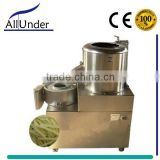 Automatic fresh sweet potato peeling and cutting machine