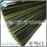 Artificial pine needle polyester PET plastic fiber for Christmas Tree