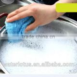 Promotional recycled used microfiber wiping rags for machine