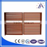 New Design Aluminium Wood Fence