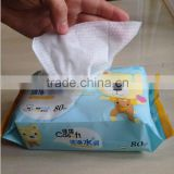 Baby face cleansing wet wipes/cleansing face wipes/OEM manufacturer China