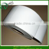 premium quality white matt PP synthetic paper sticker, custom blank self adhesive labels in roll                                                                         Quality Choice