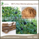 Natural Herb Siberian Ginseng Extract Powder                                                                         Quality Choice