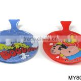 Funny 6inch making noise fart bags stadium seat cushion bag self inflating whoopee cushion without cotton