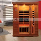 New Red Cedar Far Infrared Sauna Room With Carbon fiber Heater