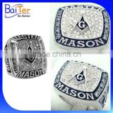 Quality Customized Master Mason Masonic Championship Ring, Masonic Knights Templar Ring, Men's Masonic Championship Ring