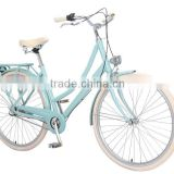 Cheap alloy 3 speed bike front LED bicycle cream tire fashion lady bicycles