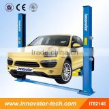 hydraulic auto lifter two post with CE certificate IT8214E 4000kg capacity to repair cars MOQ 1set