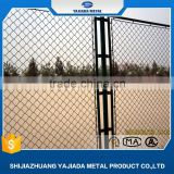China supplier wire mesh temporary chain link fence with barbed wire