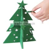 felt christmas tree for christmas ornament home decor Teda Christmas Tree Felt Ornaments hangings decorations