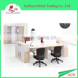 China modern design office workstation for 6 person